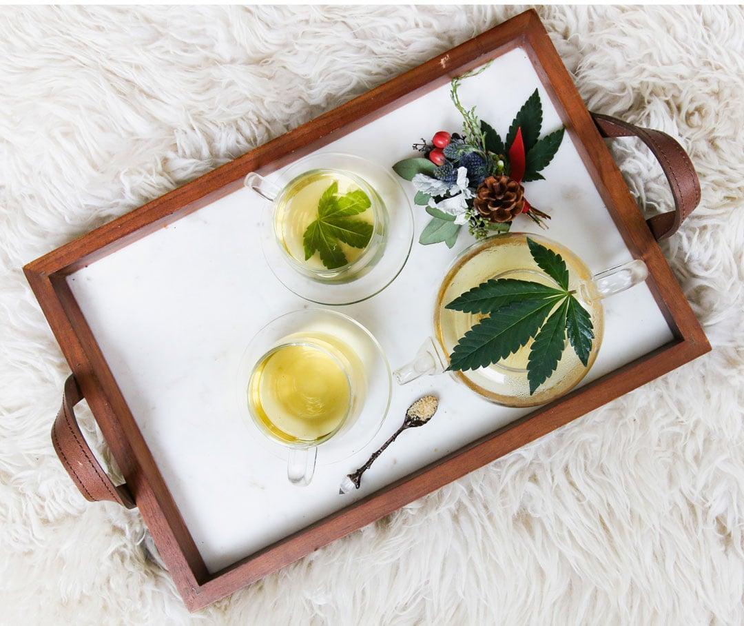 ecco come preparare una tisana a base di cannabis e ricca di cbd